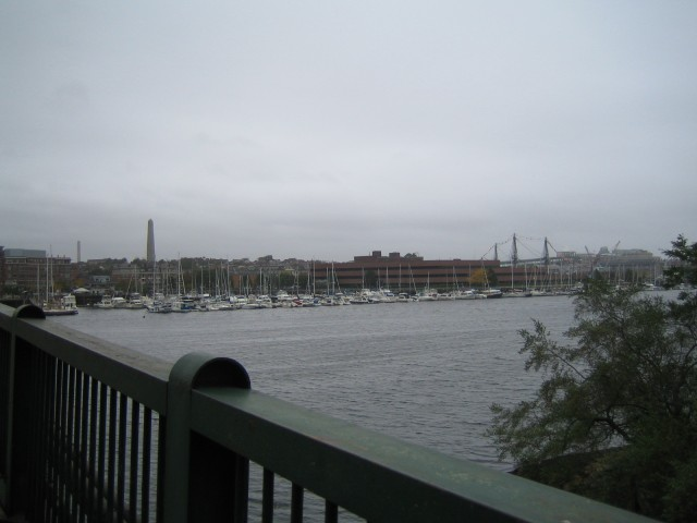 Boston - Bridge across Charles River