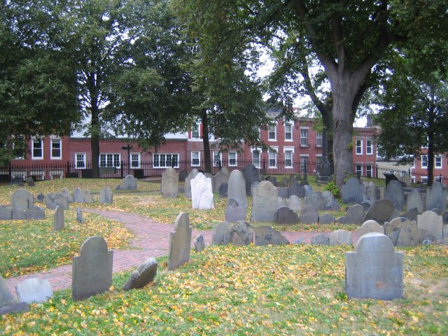Boston - Copp's Hill Burying Ground