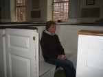 Boston - Glenda in pew box