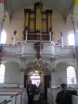 Boston - Organ Pipes in Old North Church