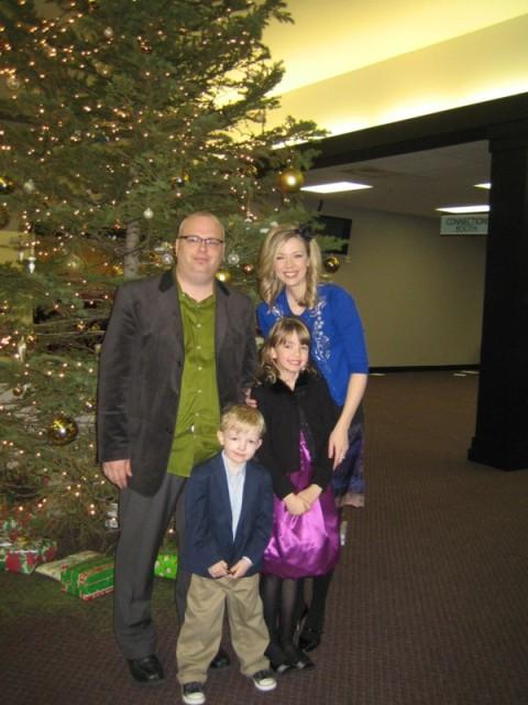 The Holsingers on Christmas Eve 2008