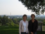 Donna & Glenda at Arlington