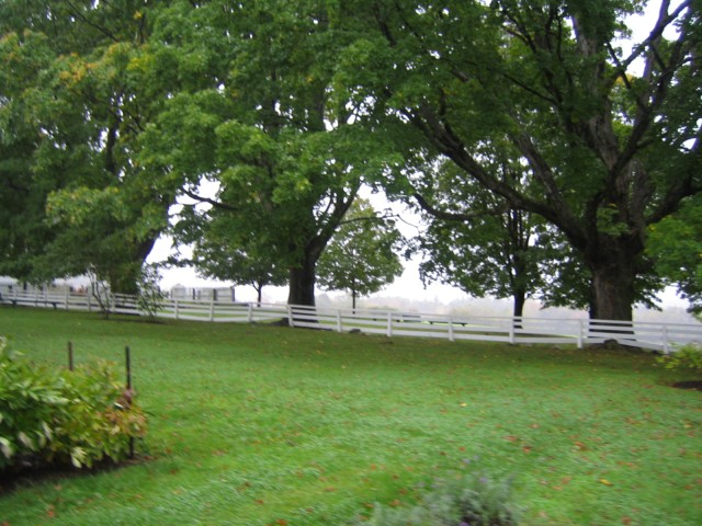 Shaker Village grounds