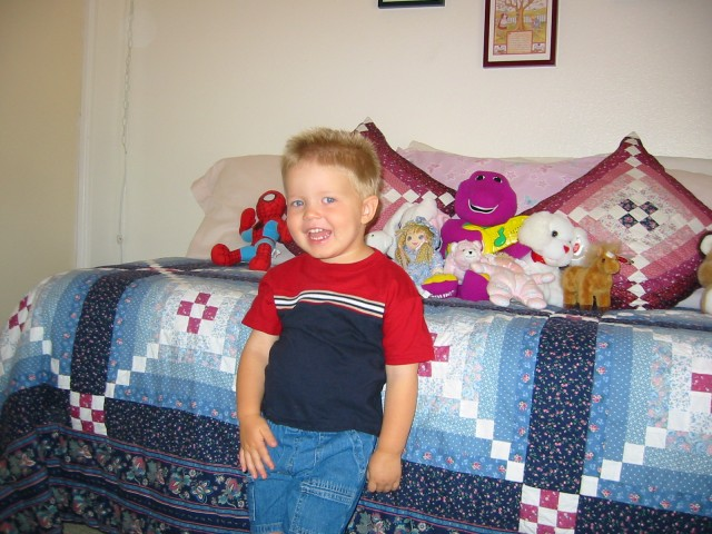 In Nonna's grandkid room