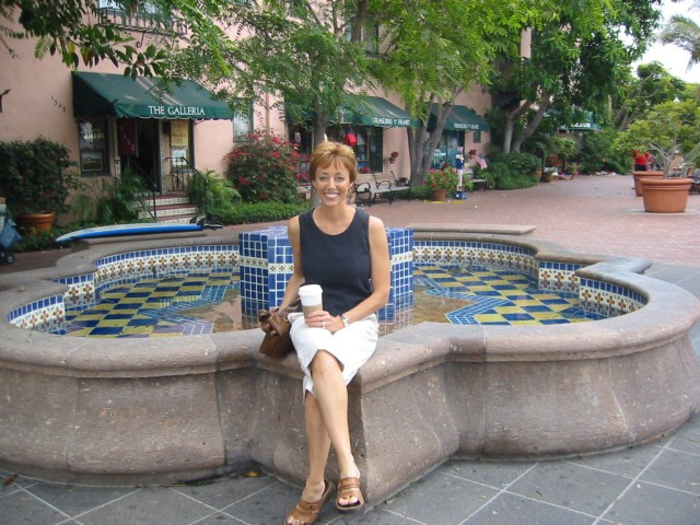 Glenda on Coronado Island