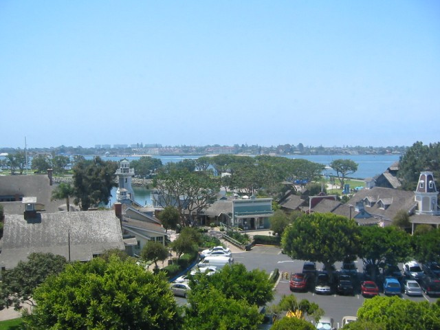 Looking across Bay to Coronado Island