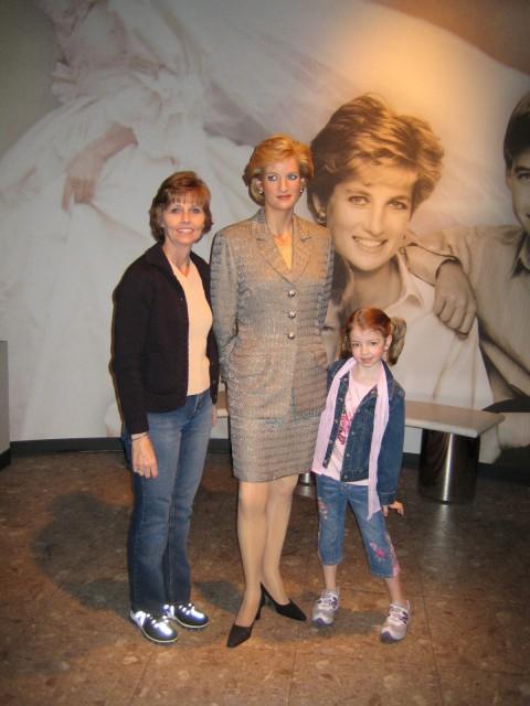 Donna, Megan & Princess Di