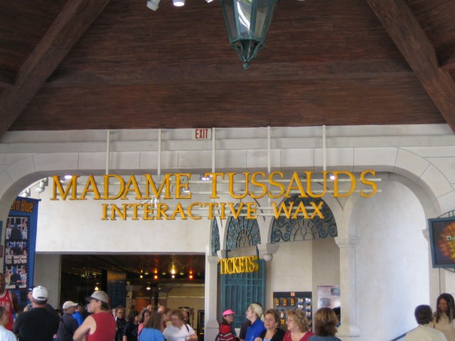 Entrance to Wax Museum