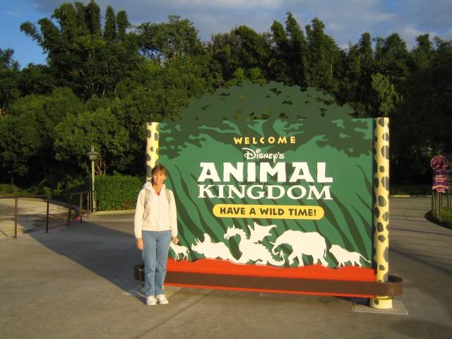 Donna at Walt Disney World