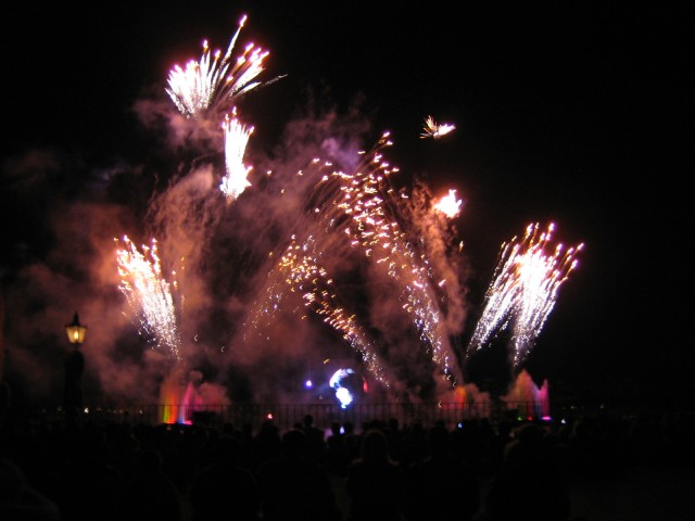 Illuminations, the fireworks spectacular at Epcot