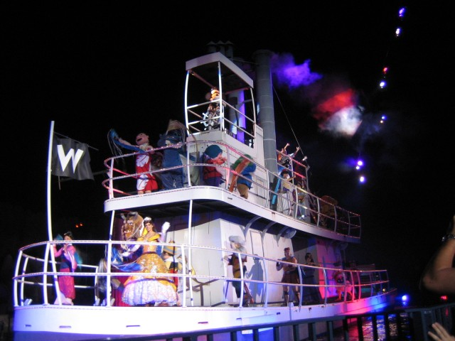 Floats at Fantasmic