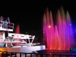 Floats and fountains