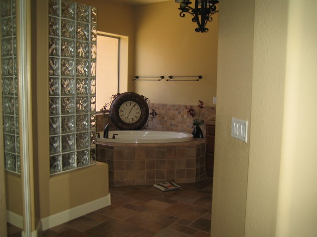 Master bath (Shower in left)