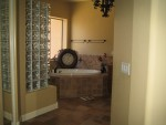 Master bath (Shower in left)