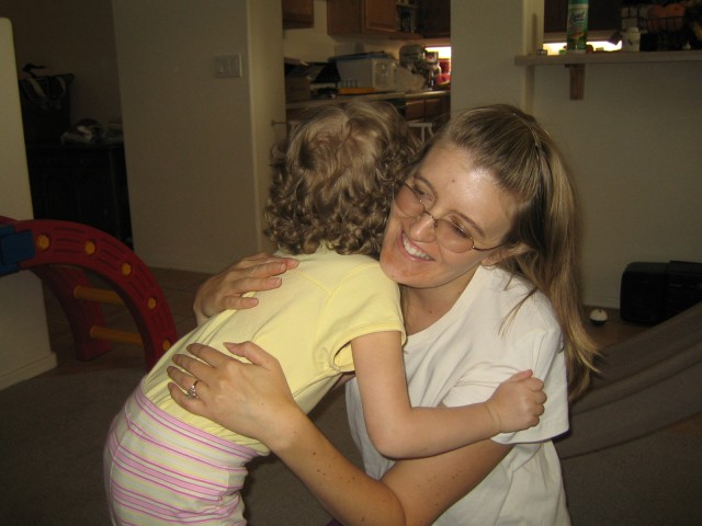 Hugs from Mommy