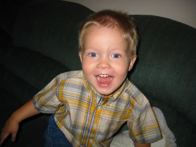Happy face June 5, 2005