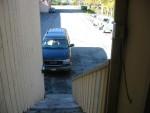 Front door view from apartment