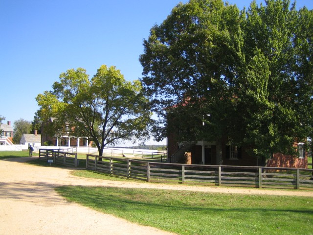 Appomattox Court House village