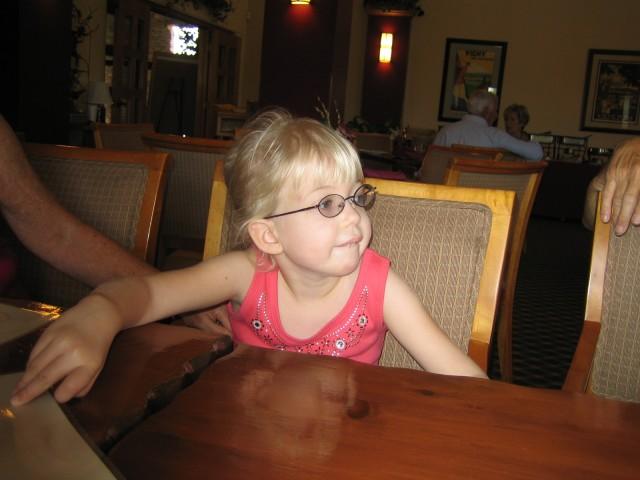 Lauren at brunch
