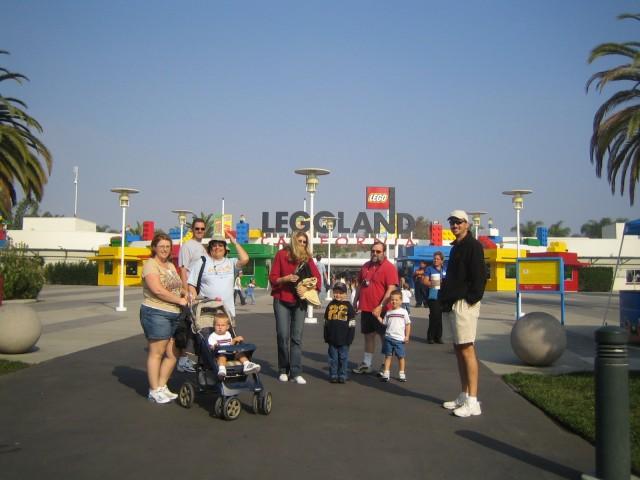 The gang at Legoland