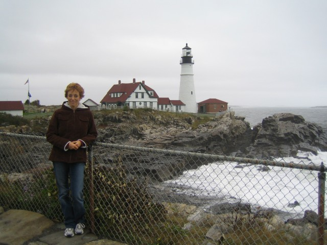 Glenda at Portland Head