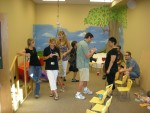 Party fun in the activity room