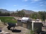 Back yard grill