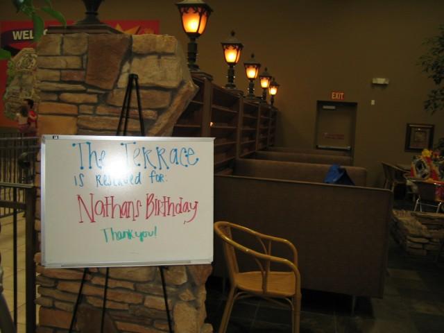 Nathan's birthday party at Fantastic Jakes