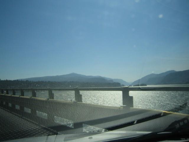 Columbia River Bridge at The Dalles