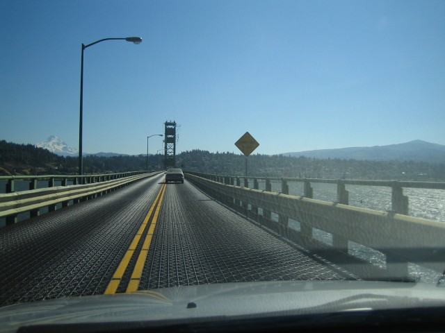 Heading into Portland