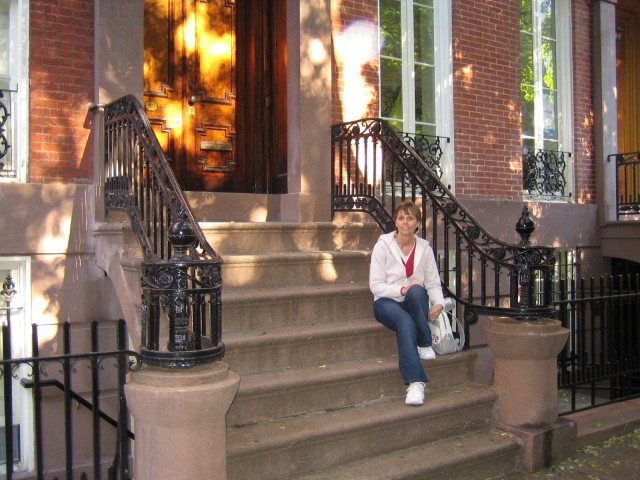 NYC - Donna in Greenwich Village