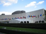 NYC - Front of the UN