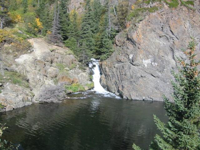 Waterfall on Turnagain Arm