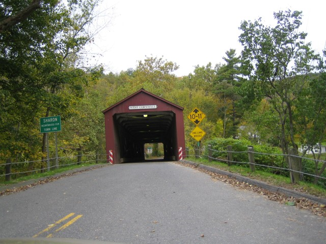 Looking into the Covered Bridge