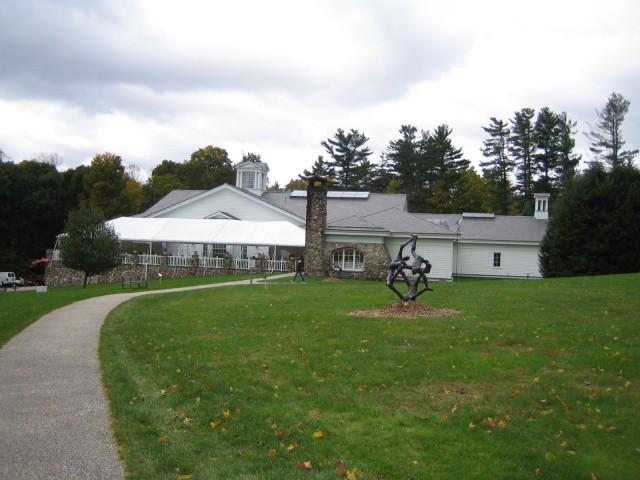 Rear of Rockwell Museum
