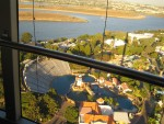View from sky tower (360 ft in the air)