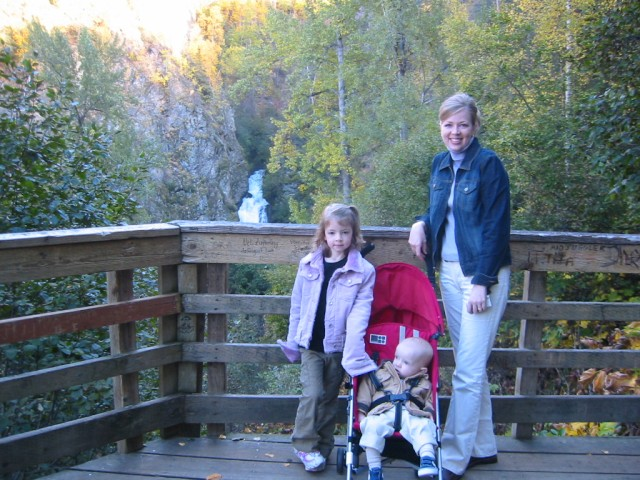 View of Thunderbird Falls