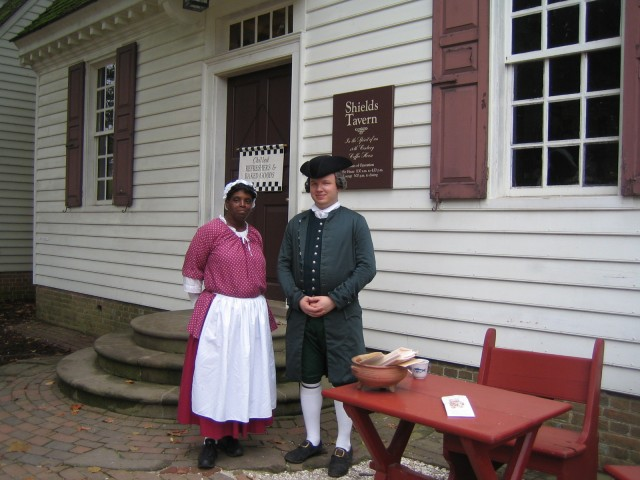 Actors at Williamsburg
