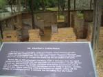 Excavating site at Williamsburg