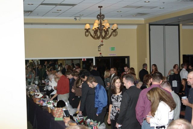 The silent auction heats up