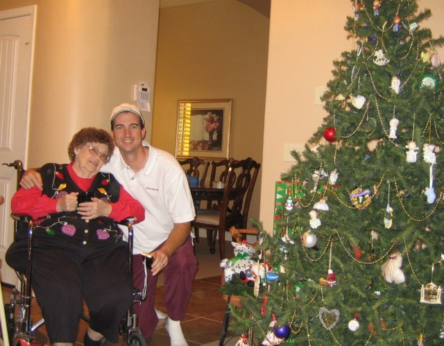 Brian & Grandma