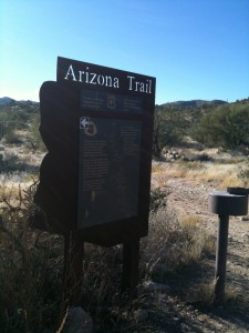 Arizona Trailhead sign