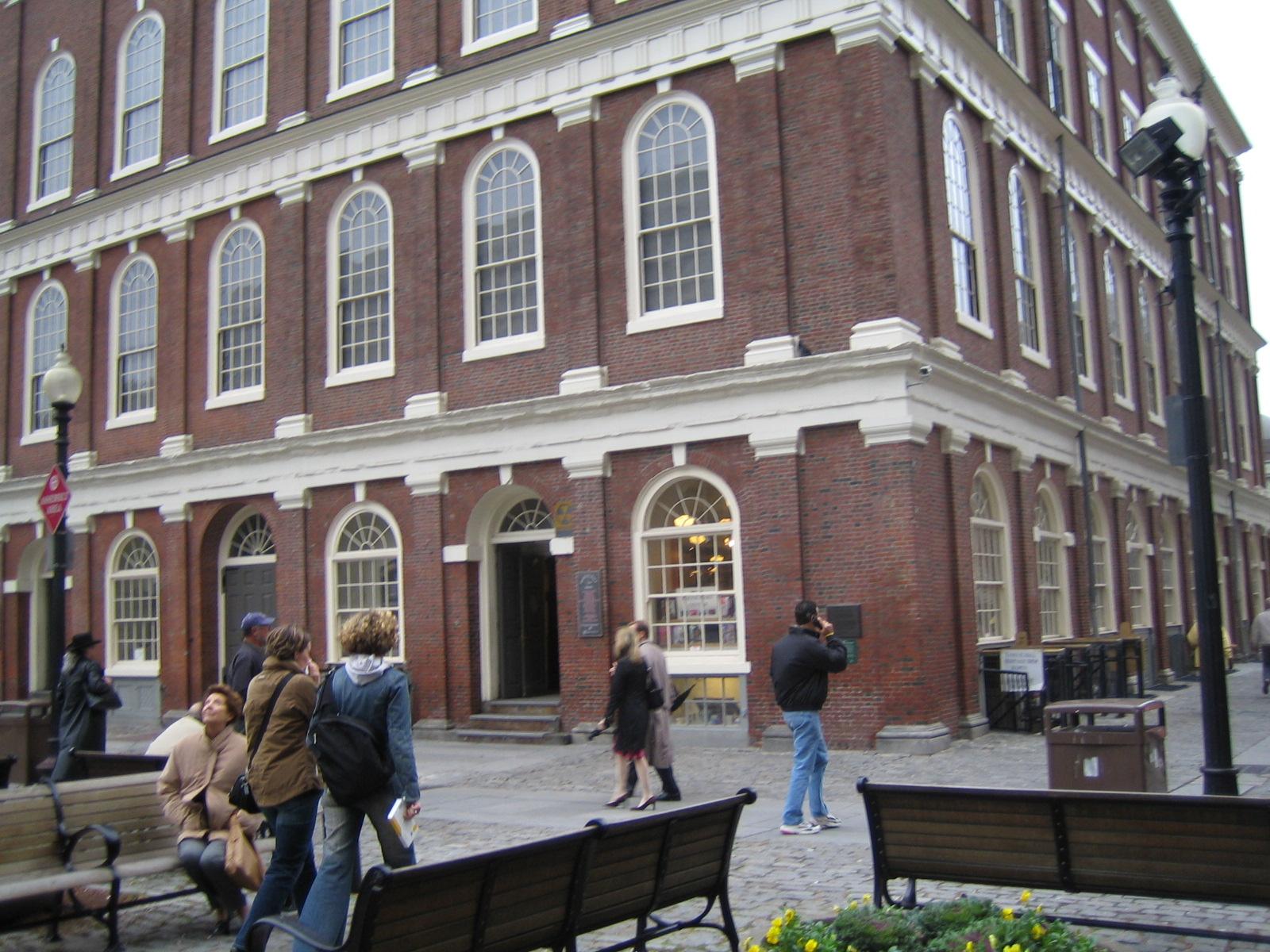 Boston - Faneuil Hall