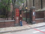 Boston - Glenda at Old North Church