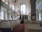Boston - Inside Old North Church