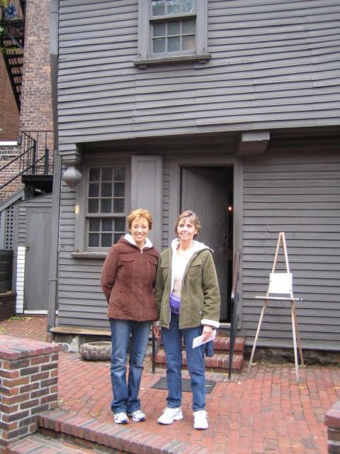 Boston - outside Paul Revere's house