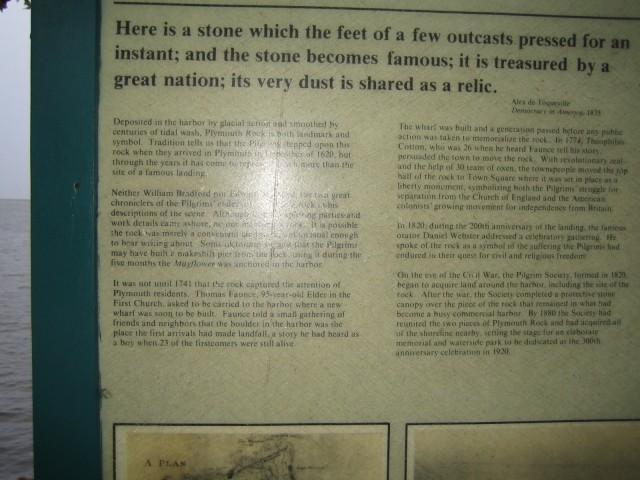 Plymouth Rock History