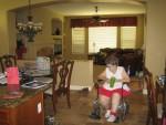 Family room behind Grandma
