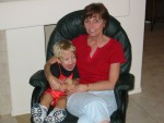 Nonna with my little buddy (10/2004)