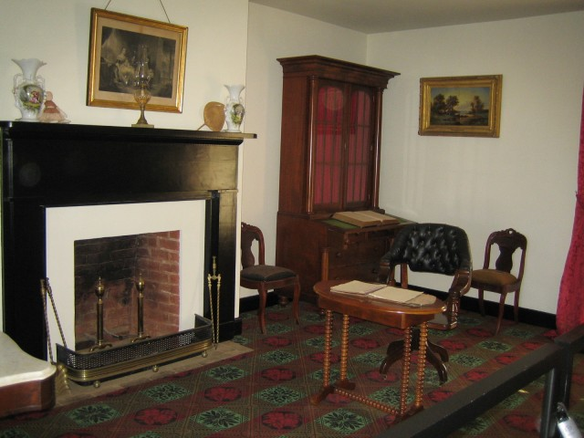 This is where Lee surrendered to Grant and the Civil War ended